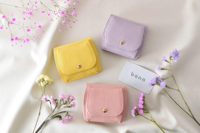 Bonaコンパクト財布-春色